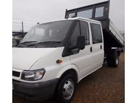 Ford transit tipper super condition