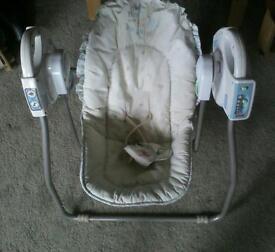 Fisherprice battery operated baby swing