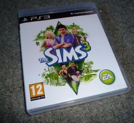PS3 SIMS 3 Game
