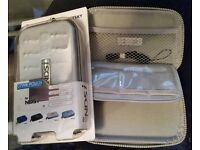 Nintendo NDSI pouch in silver. Brand New