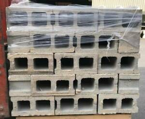 4 Pallets of Double Besser Blocks (400x195x195mm) - $2.50 each