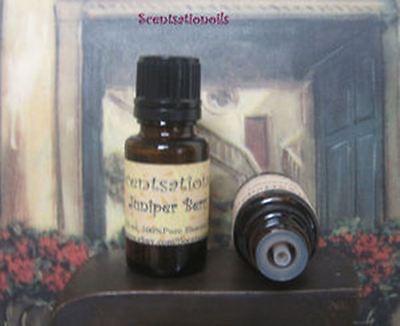 JUNIPER BERRY ESSENTIAL OIL 1/2 OZ WEIGHT LOSS MASSAGE MEDITATION PURIFYING 1 Essential Massage Oil