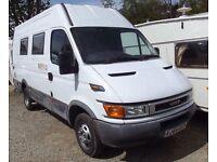 2004 Iveco Daily campervan camper