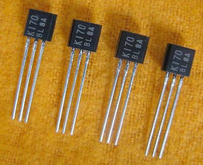 2sk170-bl To-92 Transistor Jfet N-channel Usa Ship