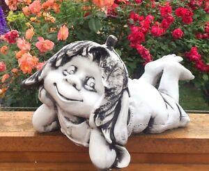 Wichtel, Gnom, Troll, Kobold, Gartenfigur, Steinfigur Art R_002