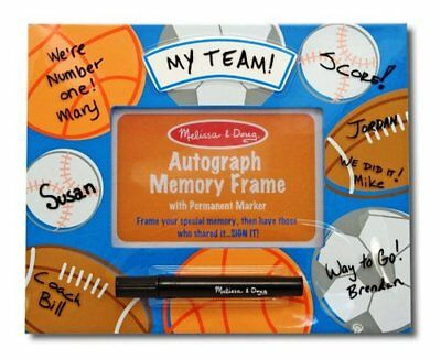 - MELISSA & DOUG #3260 AUTOGRAPH MEMORY FRAME WITH PERMANENT MARKER - NEW SEALED!