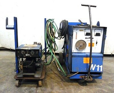 Miller 1983 Constant Potential Welding Power Source Cp-300 W S-52e Wire Feeder