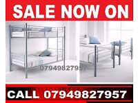 caniry Single Metal bunk in 2 single Bed