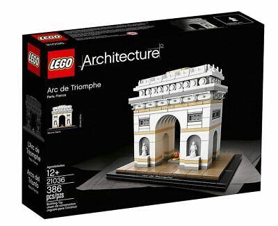 LEGO Architecture Arc de Triomphe 21036. New in Box.