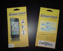 5 x Iphone 5s Screen Guard ( Protector ) Eastwood Ryde Area Preview