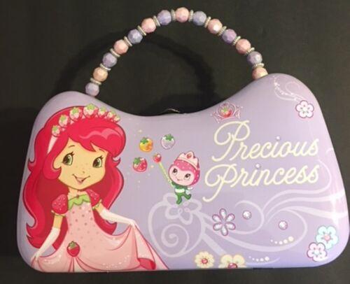 Strawberry Shortcake Tin Scoop Purse discontinued 2010 Precious Princess kids