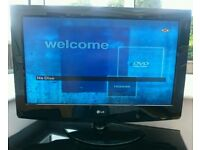 """LG 32"""" HD Ready LCD TV + stand"""