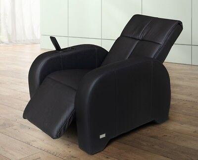 Massagesessel | Massagestuhl Leder schwarz Keyton Omega ()