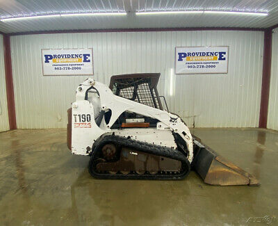 Bobcat T190 Open Rops Skid Steer Track Loader