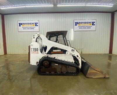 Bobcat T190 Open Rops Skid Steer Track Loader