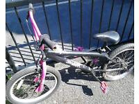 Appollo bmx girls boys bike needs attention but good project parts