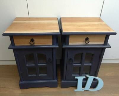 Reloved timber bedside tables Allambie Heights Manly Area Preview