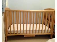 Anna Dropside Birch Cot from John Lewis 60*120cm - delivery possible