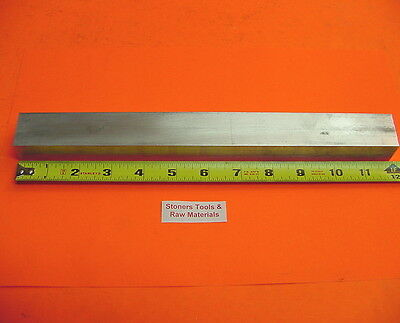 1 X 1-12 Aluminum 6061 Flat Bar 12 Long 1.00 T6511 Solid Plate Mill Stock