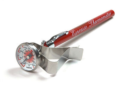 Frothing Thermometer - Espresso, Cappuccino Coffee, Latte, Steamed Milk Frothing Thermometer. New