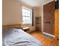Double Bed in Rooms to rent in rustic-style 5-bedroom houseshare with garden in Tottenham