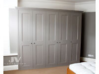 Fitted wardrobes, fitted shelving, alcove bookcases, cupboards and bespoke fitted furniture
