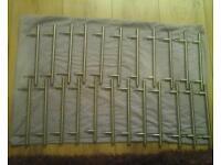 24 stainless steel t bar kitchen door handles