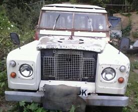 Landrover 2a 109 lwb station wagon