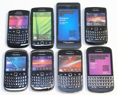 8 Stk. BlackBerry Dummy's Attrappen - ausschließlich BlackBerry Modelle, selten