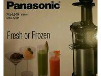 Brand new silver Panasonic juicer