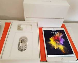 iPad Mini 4 WiFi Cellular 32gb Silver Apple Store warranty-9Nov17 Calamvale Brisbane South West Preview
