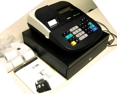 500dx Royal Electronic Cash Register Instruction Manual 10 Extra Paper Rolls