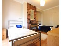 Single Bed in Rooms for rent in 5-bedroom houseshare with garden in White City