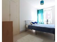 Rooms to rent in comfortable 5-bedroom flat in Southwark, the centre of the city