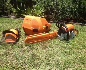 STIHL MS 390 Farm Boss Chainsaw Augustine Heights Ipswich City Preview
