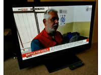 """PANASONIC VIERA 42"""" TV FULL HD BUILT IN FREEVIEW EXCELLENT CONDITION REMOTE CONTROL FULLY WORKING"""
