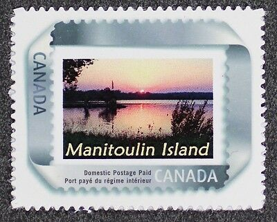 Island Personalized Mint - D1112A CANADA 2004 #2063 Personalized, Picture Postage Manitoulin Island Mint NH