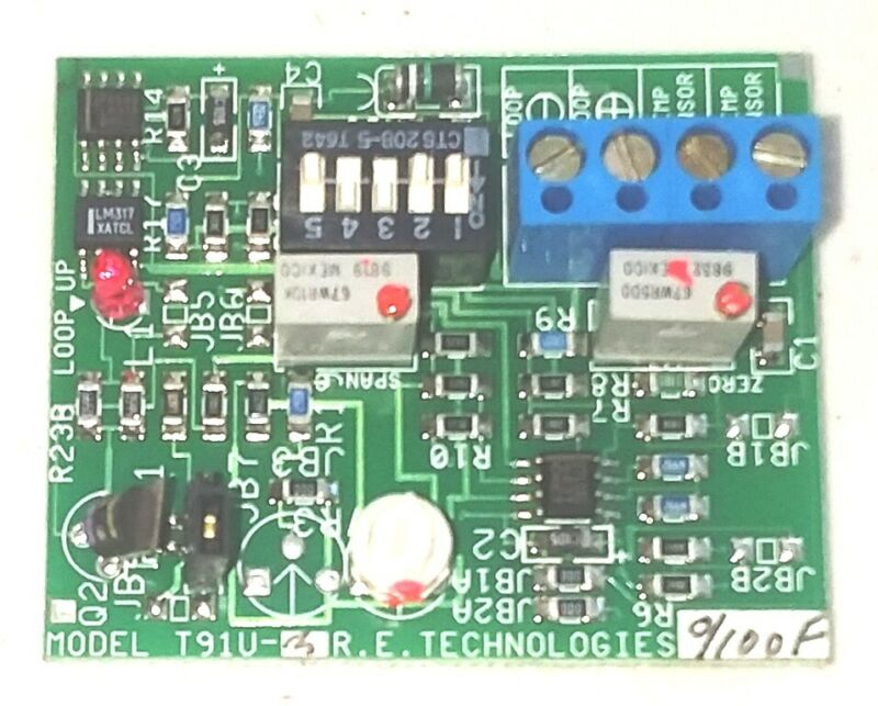 Kele T91U 0-100F RTD platinum transmitter