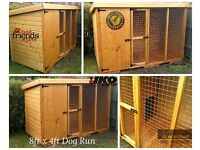 8ft x 4ft Dog Kennel and Run - Cattery 🐕🐈