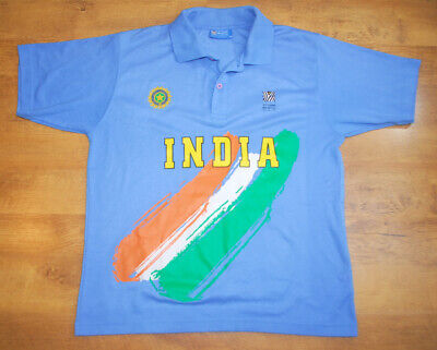 Official ICC Cricket World Cup 2001 India shirt (Size - Icc Cricket