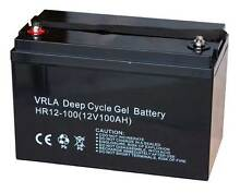 Deep Cycle Battery – 100Ah – AGM Battery - NEW Wangara Wanneroo Area Preview