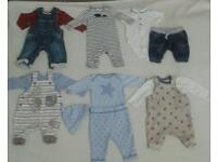 Huge bundle of newborn baby boys clothes 40+items