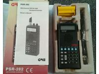 New in box PSR-282 GRE Handheld Scanner, great for airshows etc..