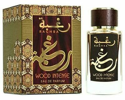 Lattafa RAGHBA Wood Intense Eau de Parfum 100 ml Unisex Free Shipping