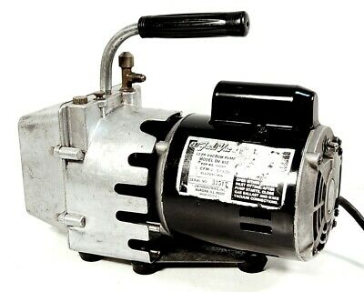 Free Shipping --- Jb Industries Fast Vac Model Dv-85c 3cfm 2 Vacuum Pump Hvac