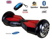 Hoverboard BALANCING ELECTRIC SCOOTER BLUETOOTH 2 WHEELS BALANCE BOARD +Bluetooth +LED