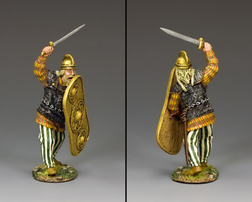 KING & COUNTRY ROMAN EMPIRE RNB010 FIGHTING CHIEFTAIN MIB