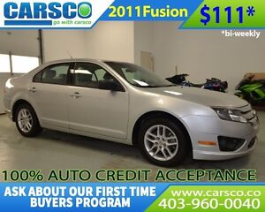 2011 Ford Fusion $0 DOWN BI WEEKLY PAYMENTS $111