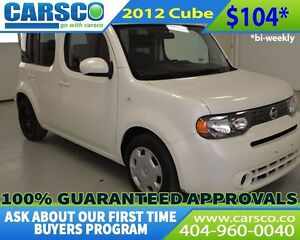 2012 Nissan Cube $0 DOWN BI-WEEKLY PAYMENTS $104