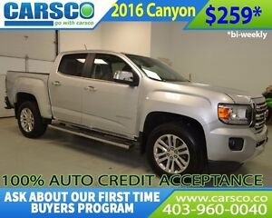 2016 GMC Canyon $0 DOWN BI WEEKLY PAYMENTS $259